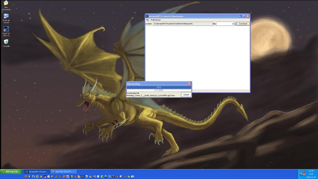DA Favorites Downloader by Dragoniade