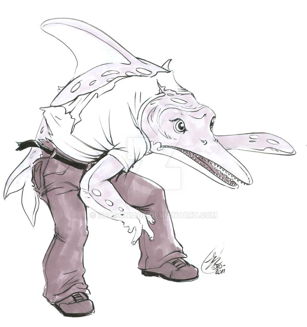 I for Ichthyosaurus TF by Dragoniade