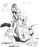 H for Hadrosaurus TF