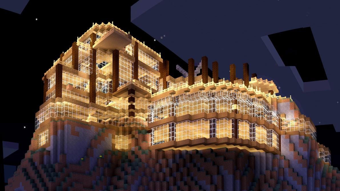 Underway - Minecraft Build by MinecraftPhotography