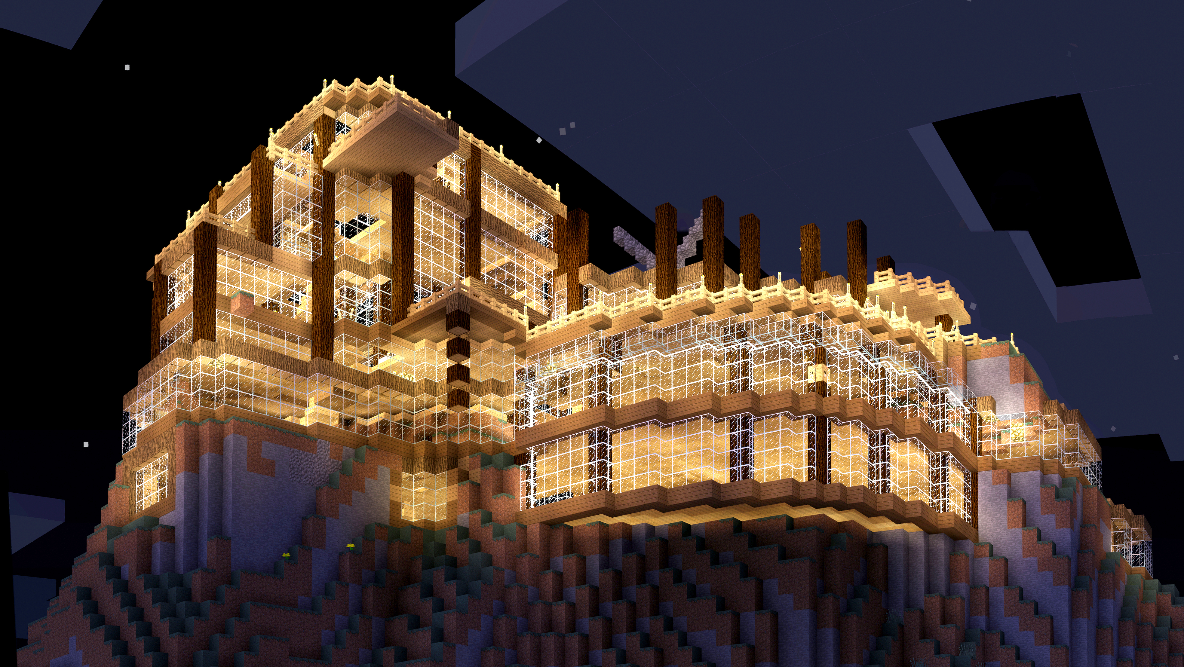 Underway minecraft build by minecraftphotography on for Cool ideas for building a house