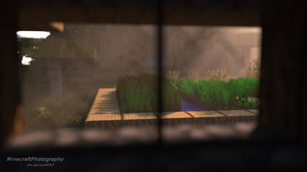 Village Farm -- Minecraft Render