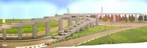 Highway Ramps -- Built by YazurX