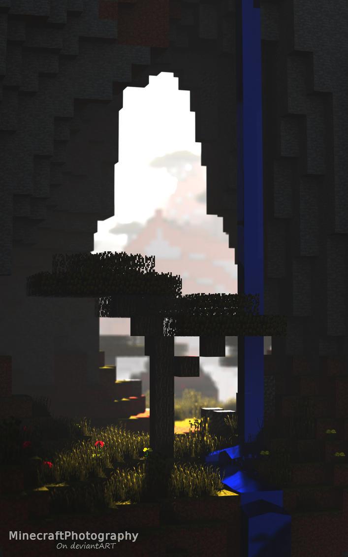 Acacia Tree by MinecraftPhotography