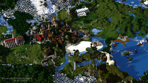 Sharthur City Project [Medieval Minecraft City]