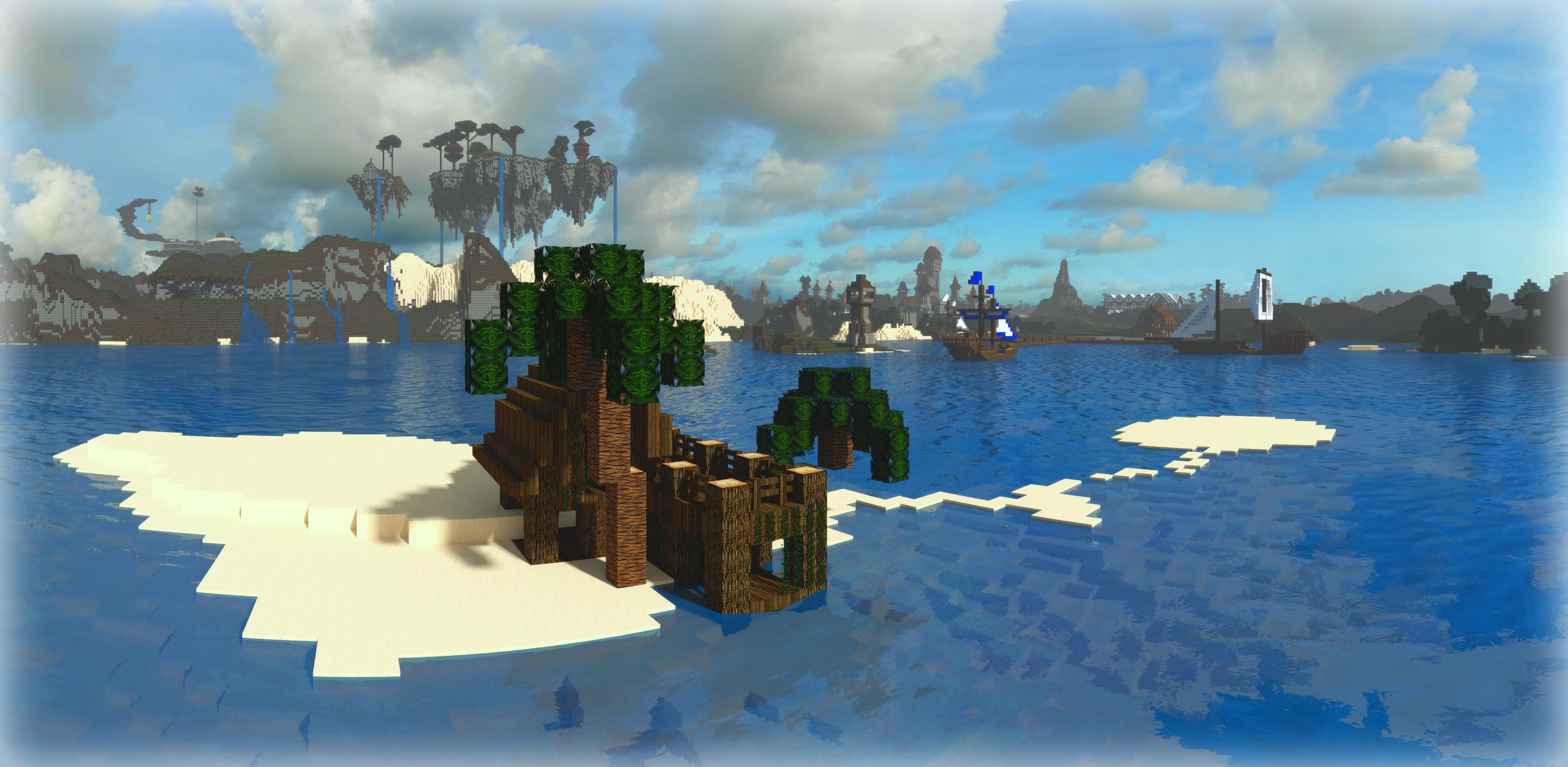 Minecraft Tropical Island Seed