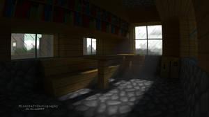 Village Room | Minecraft Render and Wallpaper