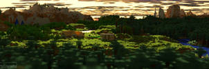 Minecraft   Sunset Village