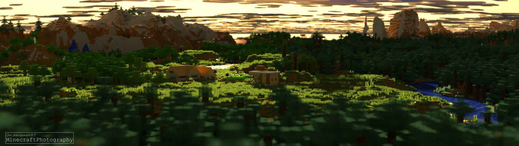 Minecraft | Sunset Village