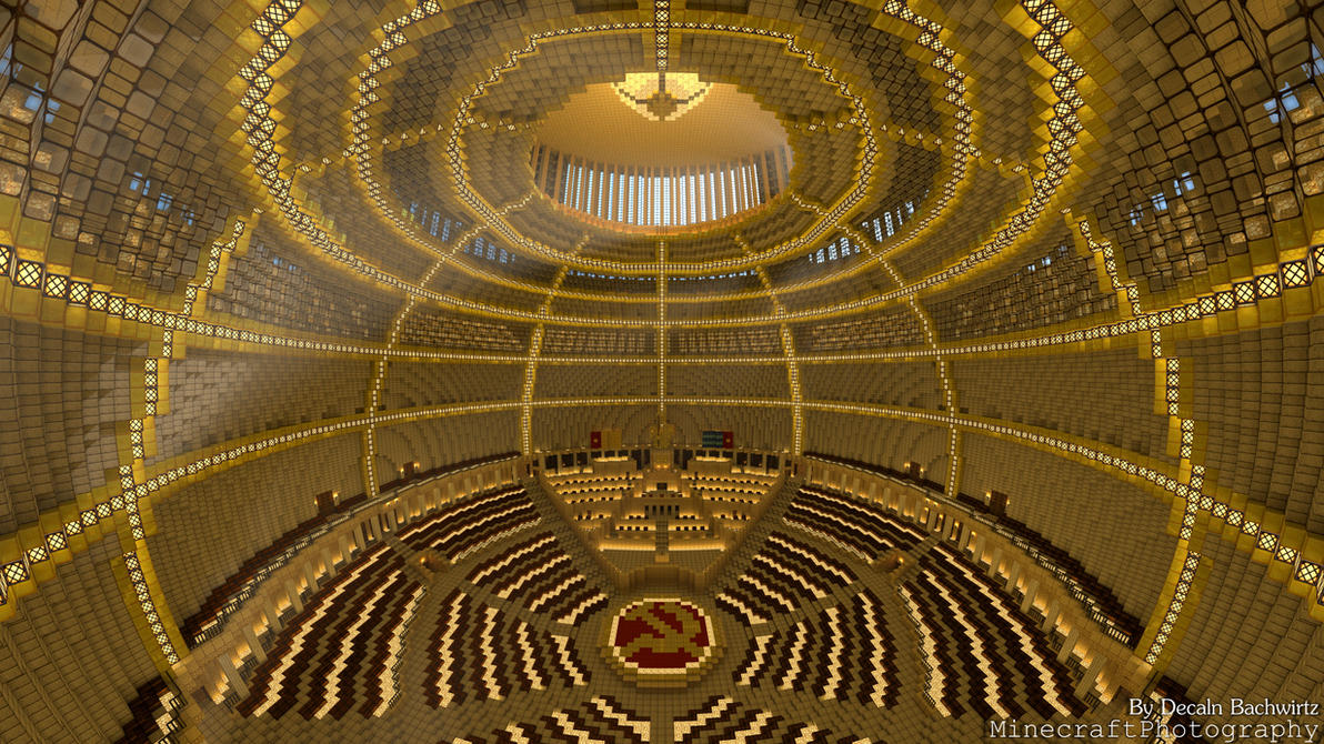 Palace of the Soviets   Built By Lemmy-Koopaling by MinecraftPhotography