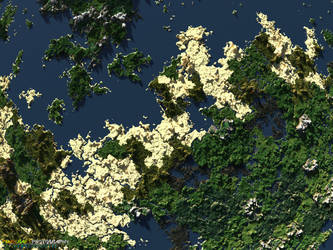 Biomes of Discovery | Giant Minecraft Render