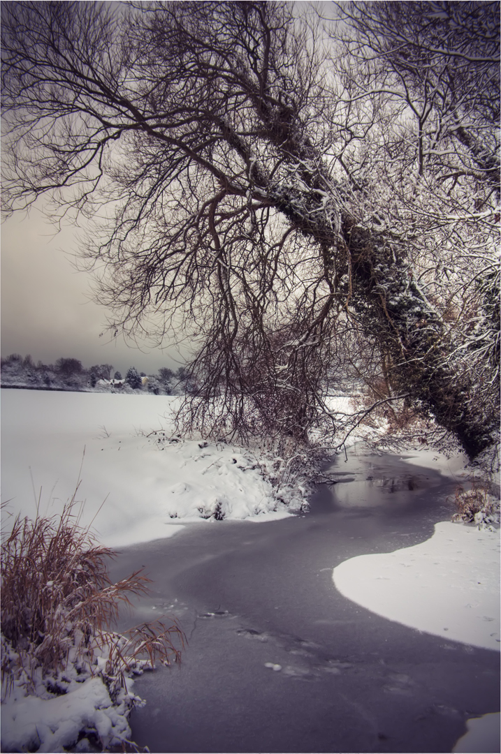 Snow River by SilverSurfer