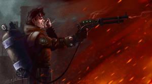 Steampunk badass