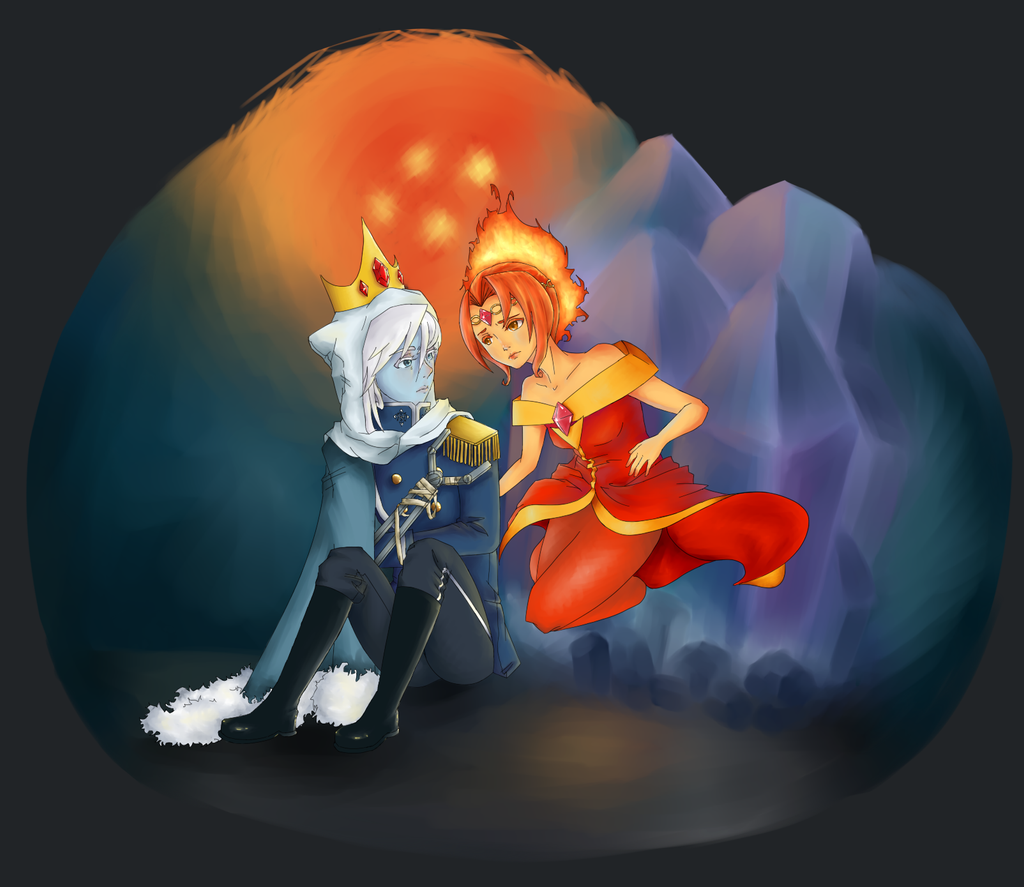 Ice and Fire by Memi-Moo