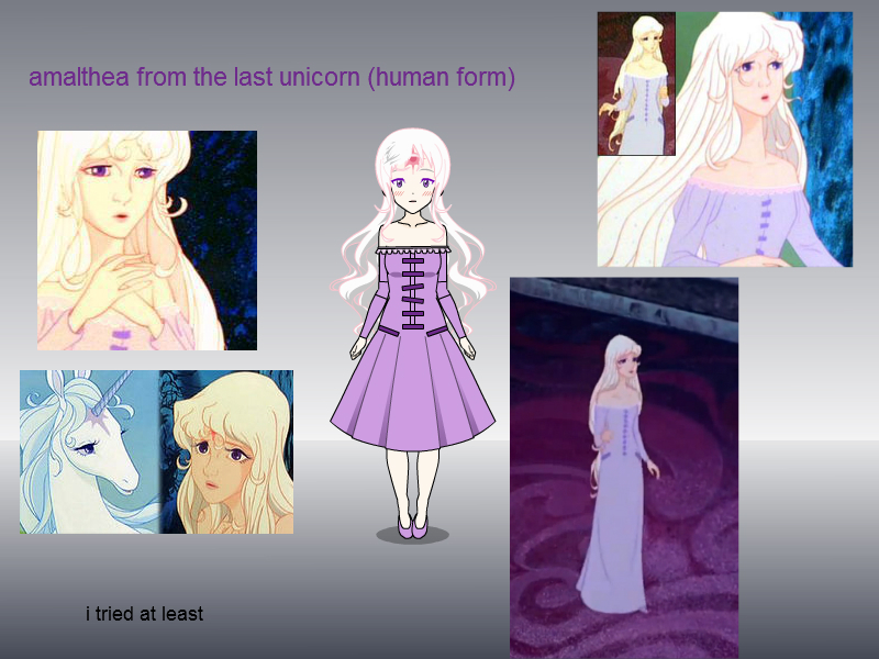 i did it!! i made Amalthea from the last unicorn!! by horeylew on ...