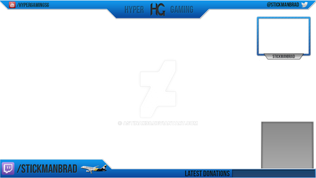 Twitch overlay for HyperGaming