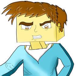 Minecraft Drawing Steve