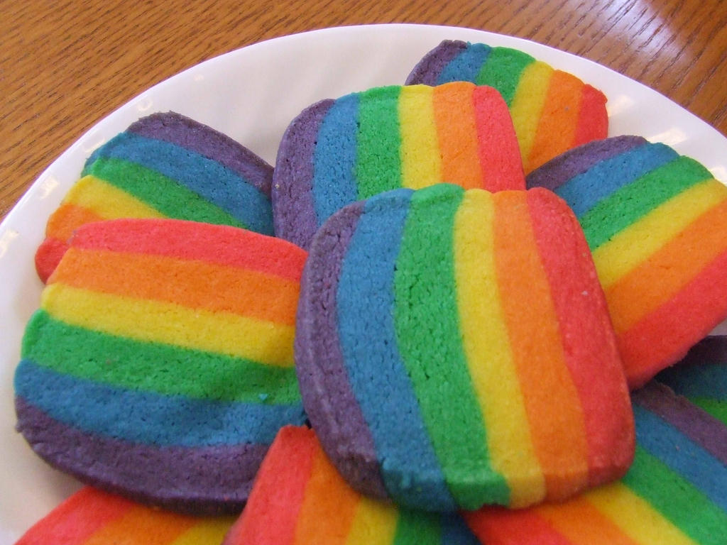 Rainbow Cookies 2 by xXfatal-happinessXx on DeviantArt