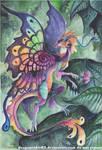 Forest Fairy Dragon by DragonRider02