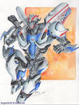 TF: Smokescreen Commission by DragonRider02
