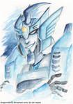 TF: Blurr Watercolor sketch by DragonRider02
