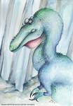 Alioramus by DragonRider02