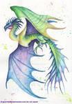 Colorful Dragon by DragonRider02