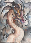 Smoking Dragon by DragonRider02