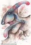 Parasaurolophus pair by DragonRider02