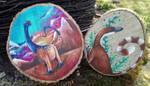 Wood slices Paleoart by DragonRider02