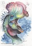 Dilophosaurus by DragonRider02