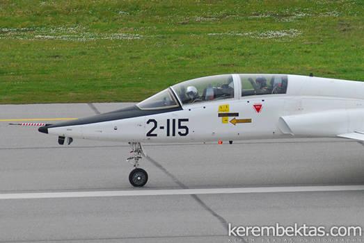 T-38 38115 Friendly Pilot