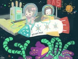 Space Stop by kuri