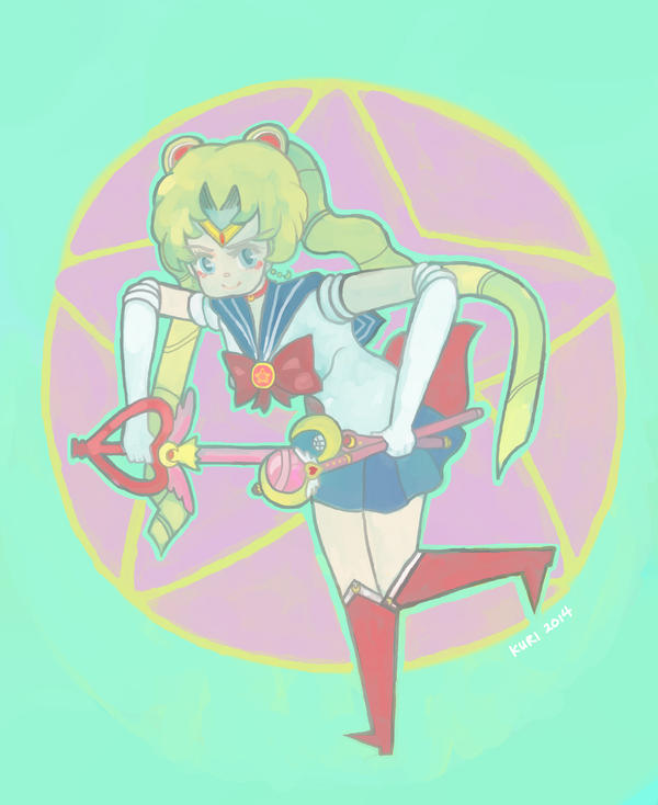 Sailor Moon by kuri