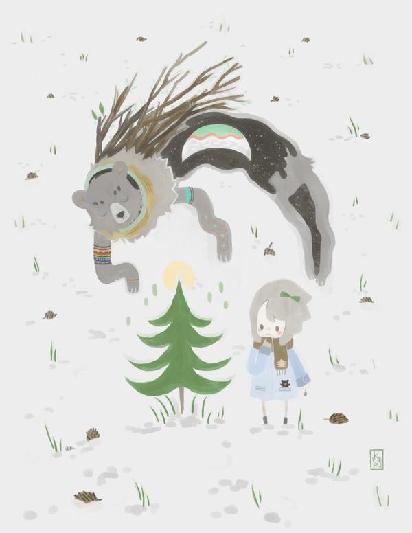Bear Spirit by kuri