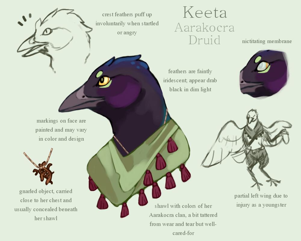 Keeta by Grasswhistler