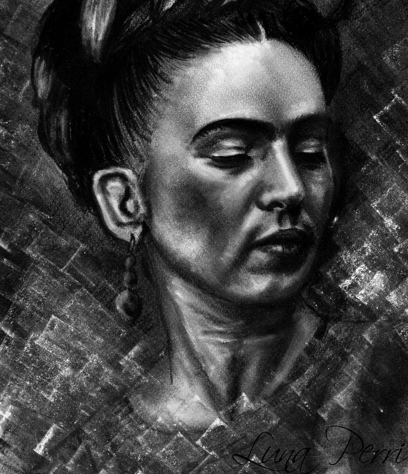 Frida Kahlo by Bluecknight