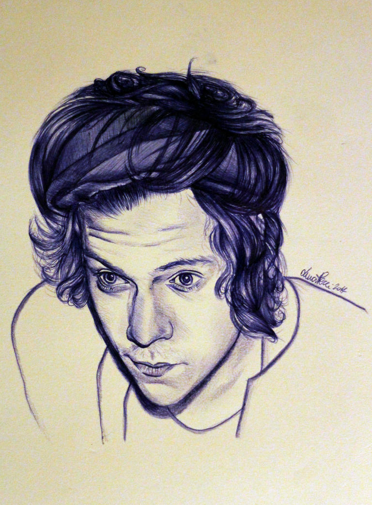 Harry Styles bic by Bluecknight