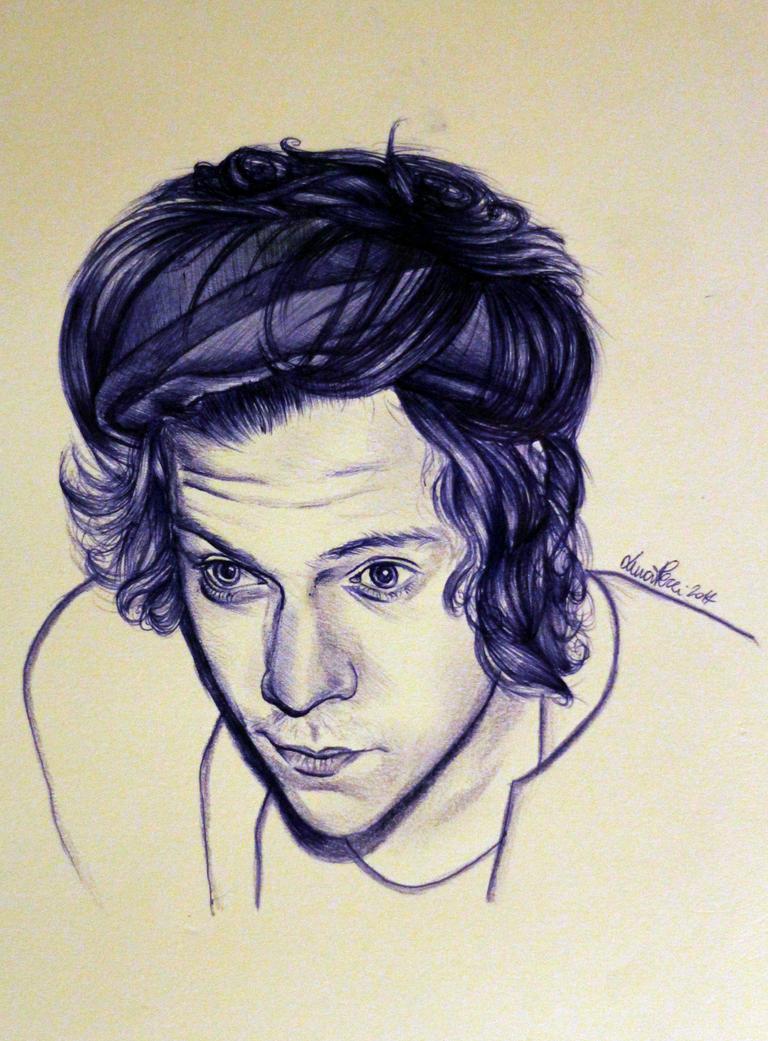 Harry Styles bic by Bluecknight