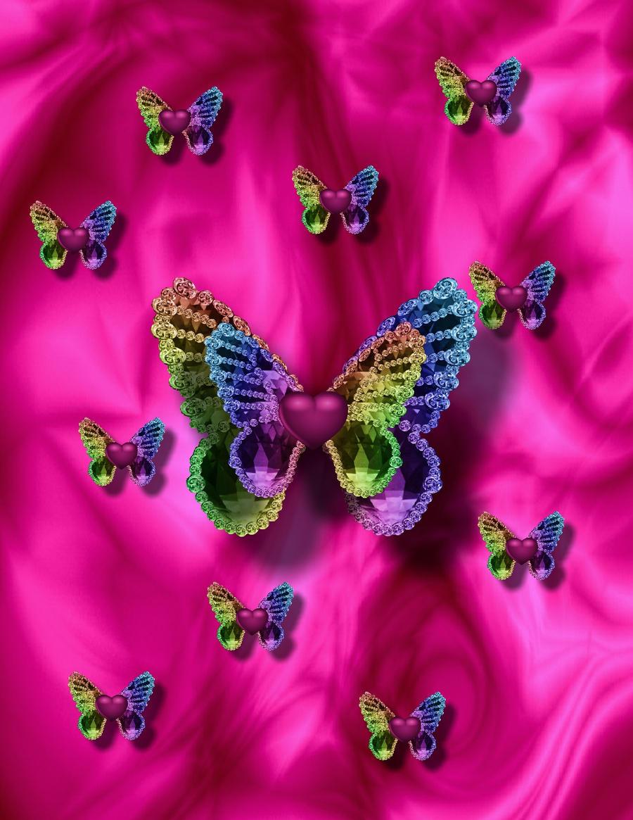 fri color butterflies 2 wallpaper by huckaberry40 - Butterflies To Color 2