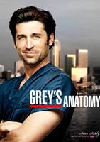 Grey's Anatomy Patrick Dempsey by artistamroashry