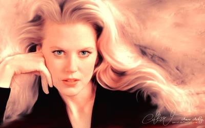 Nicole Kidman by artistamroashry