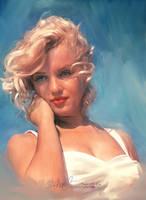 Marylin Monroe by artistamroashry