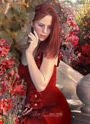 In The Garden by artistamroashry