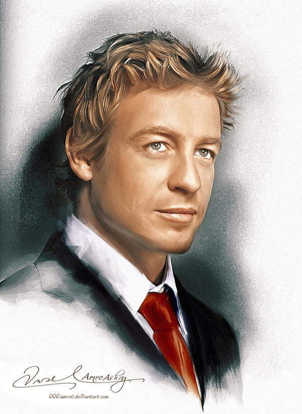 Patrick Jane The Mentalist by Amro0