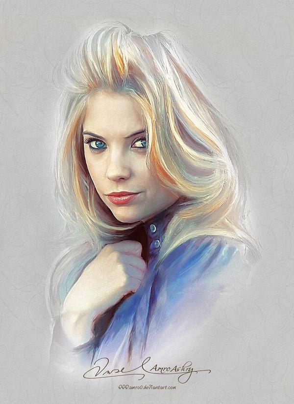 Pretty Face - Ashley Benson by Amro0