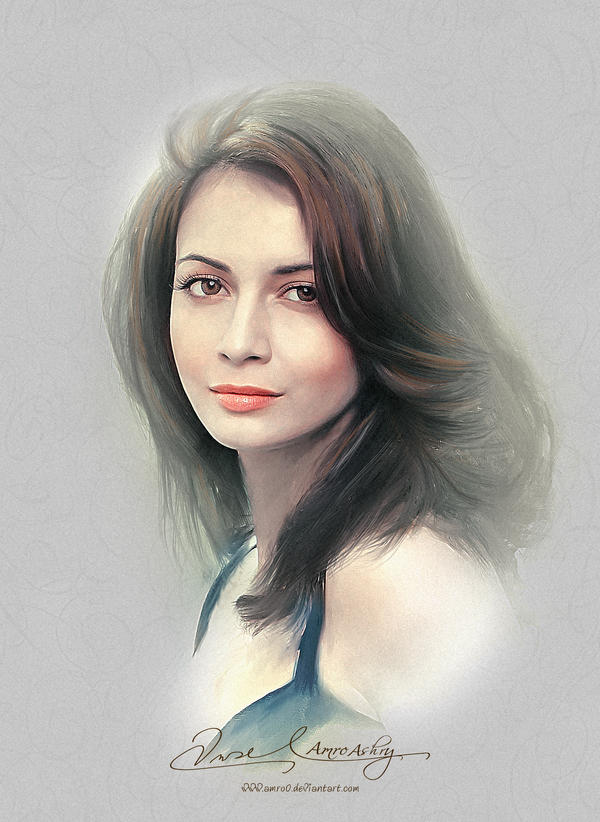 Pretty Face - Dia Mirza by Amro0