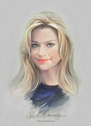 Pretty Face - Denise Richards by artistamroashry
