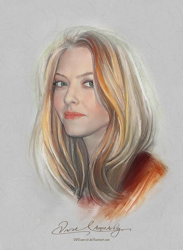 Pretty Face - Amanda Seyfried by Amro0
