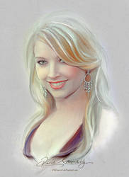 Pretty Face - Elizabeth Harnois by artistamroashry